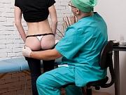 Medical exam rectal shock