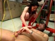 She likes tied cocks a lot