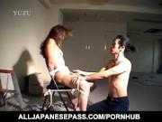 Madoka Enomoto gets rough doggy style