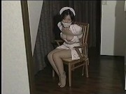 Japanese Girl Untying Self 2