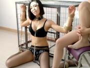 NorthEase Chinese Model Bondage 04 Feeding slave