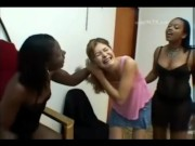 A Black women dominating white women video compilation