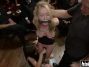 Blonde in Public Humiliaton