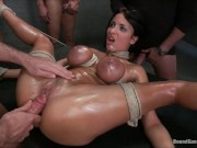 Gangbang Anissa Kate BDSM creampie