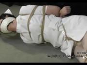 Nurse & white pantyhose bondage - Ano Hana