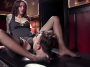 Caged Slave Must Serve Mistress Gia DiMarco