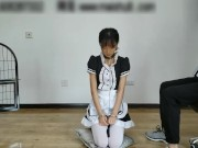 cuffed chinese maid