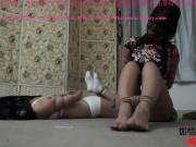 Pantyhose encased 04